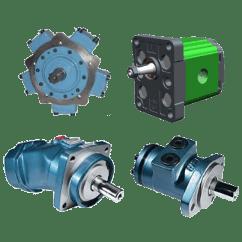 משאבות ומנועים הדראוליים